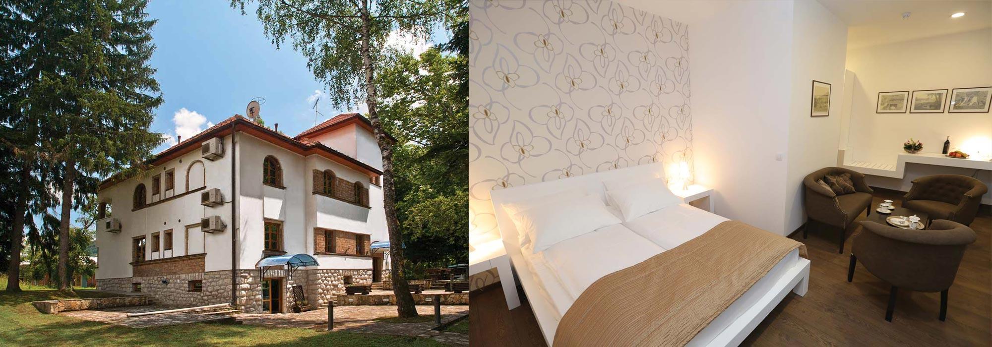 Vila Drina i restoran Vrelo